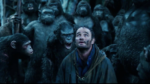 "Jason Clarke in ""Dawn of The Planet of the Apes"" Courtesy of King Features"
