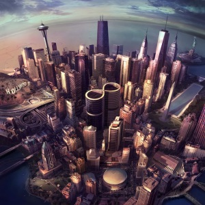 The Foo Fighters album cover, Sonic Highways. Courtesy of Pitchfork.