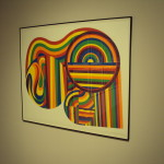 Arcs and Bands in Color by Sol LeWitt. Photo Credit by Olivia Jablonski