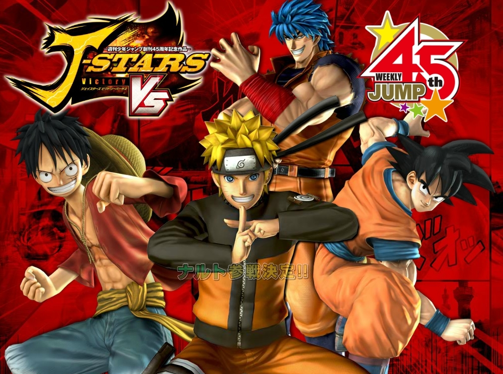 Anime Fighting For All: The J-Stars Victory VS Preview   The