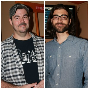 Left: Producer Andrew Gernhard; on the right: director Colin Theys